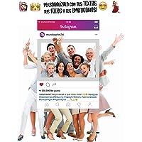 MundoPrint Marco photocall Instagram Personalizado 90x120cm. Regalo Original