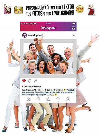 Cornici Per Foto Instagram.Cornice Photobooth Personalizzato 70 X 100 Cm Cartone 4 Mm