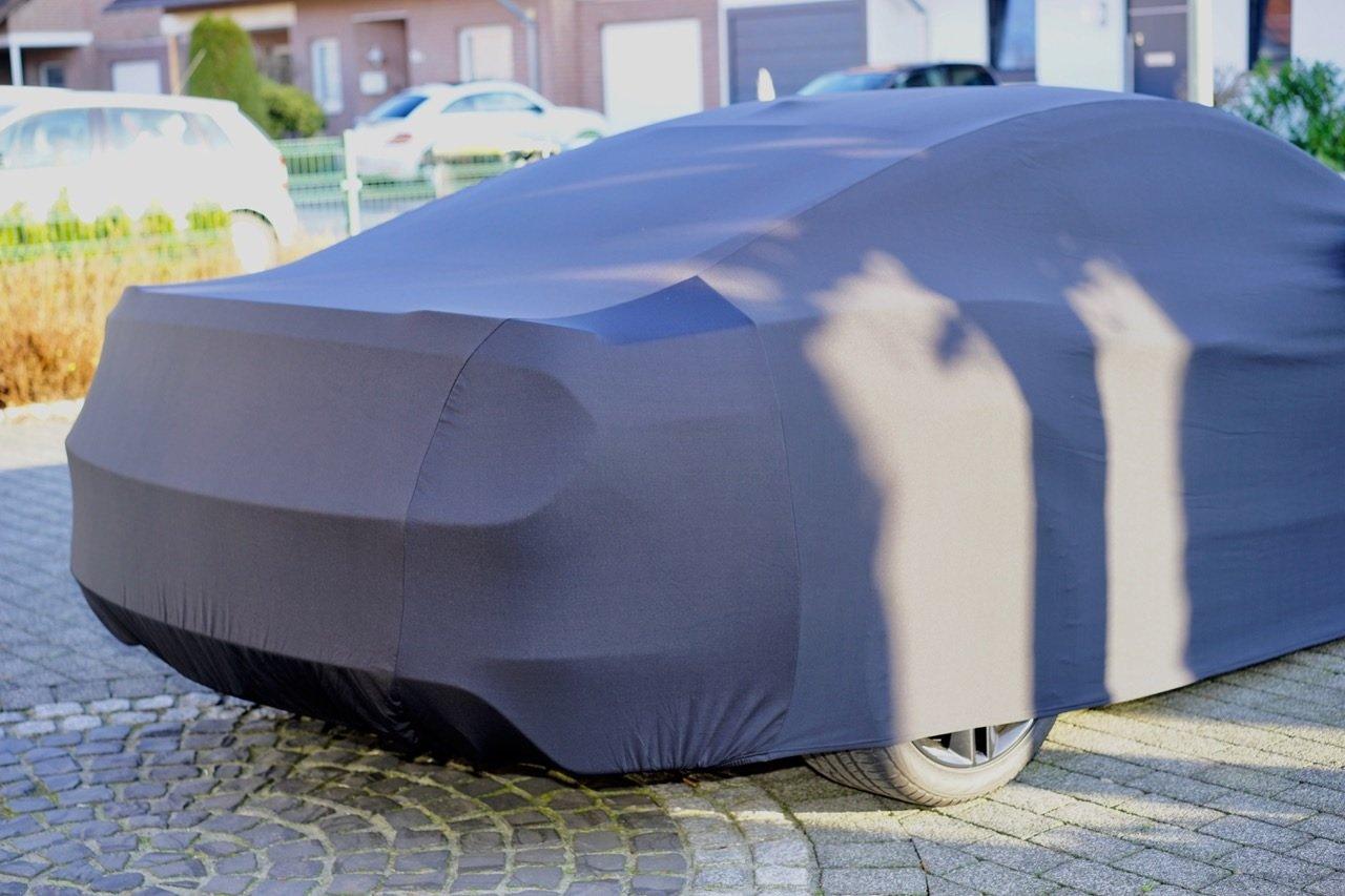 Super Soft Indoor Car Cover para Ford Mustang GT V VI Auto funda protectora pl/ástico Campana pa/ño de protecci/ón
