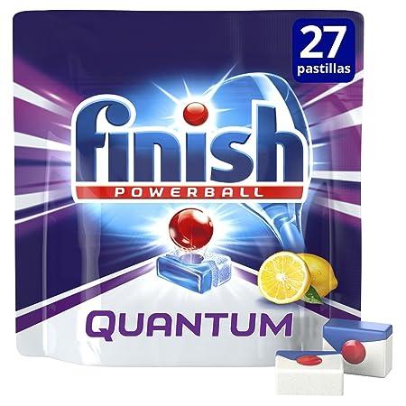 Finish Quantum Limón Pastillas para Lavavajillas - 18 + 9 ...
