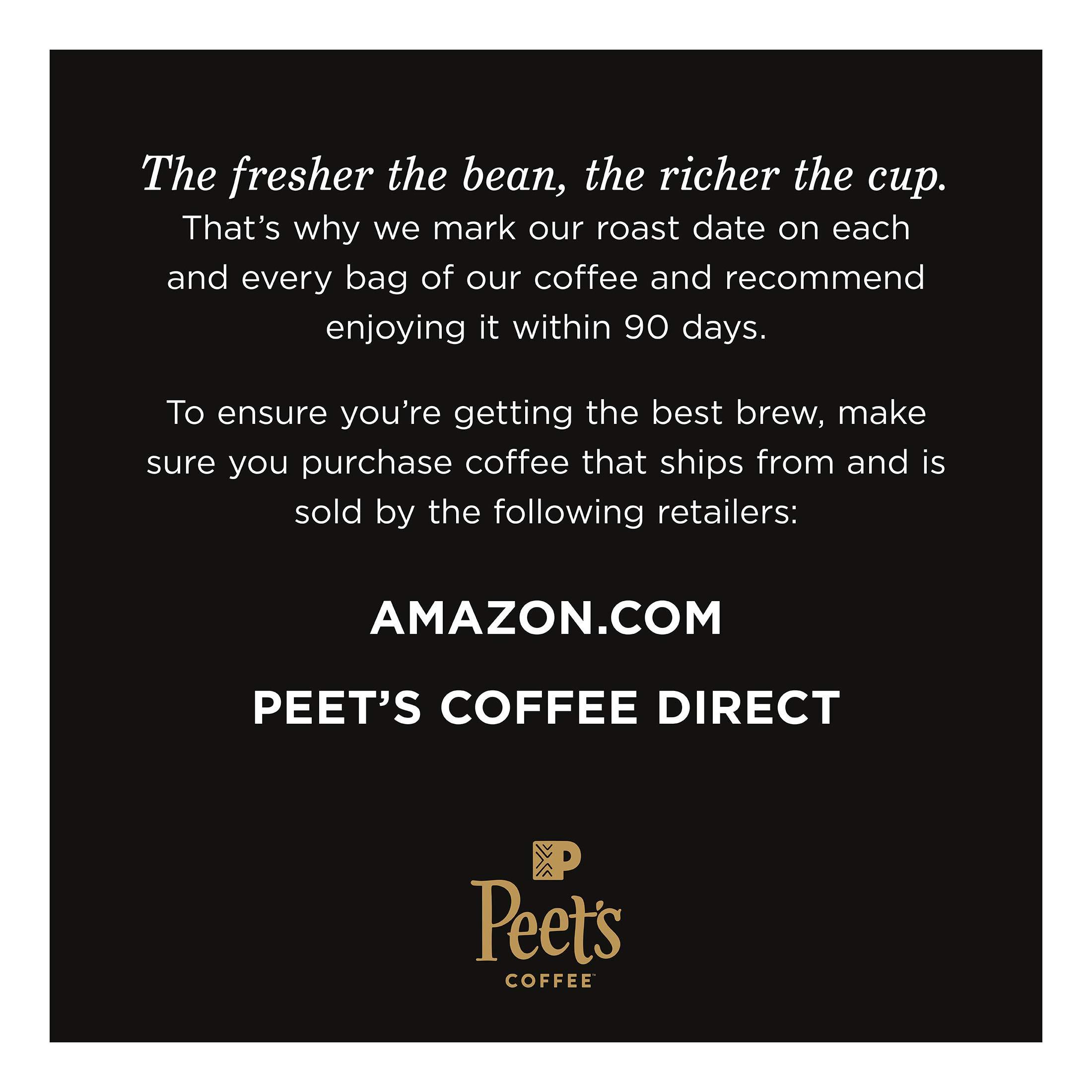 Peet's Coffee Alma de la Tierra Dark Roast Ground Coffee Organic, 2.25 Pound Bag USDA Organic by Peet's Coffee (Image #3)