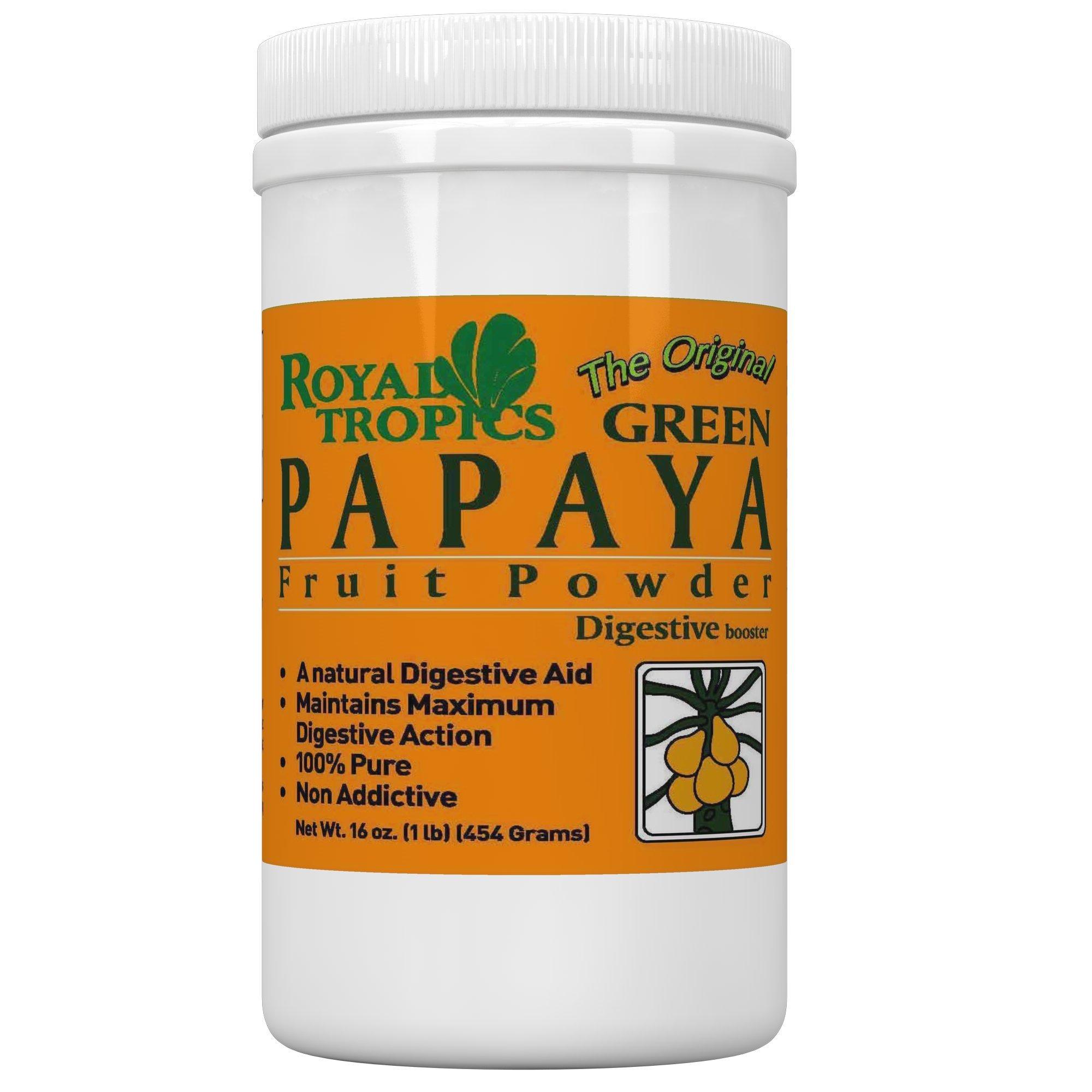 Mature green papaya enzymes discounted