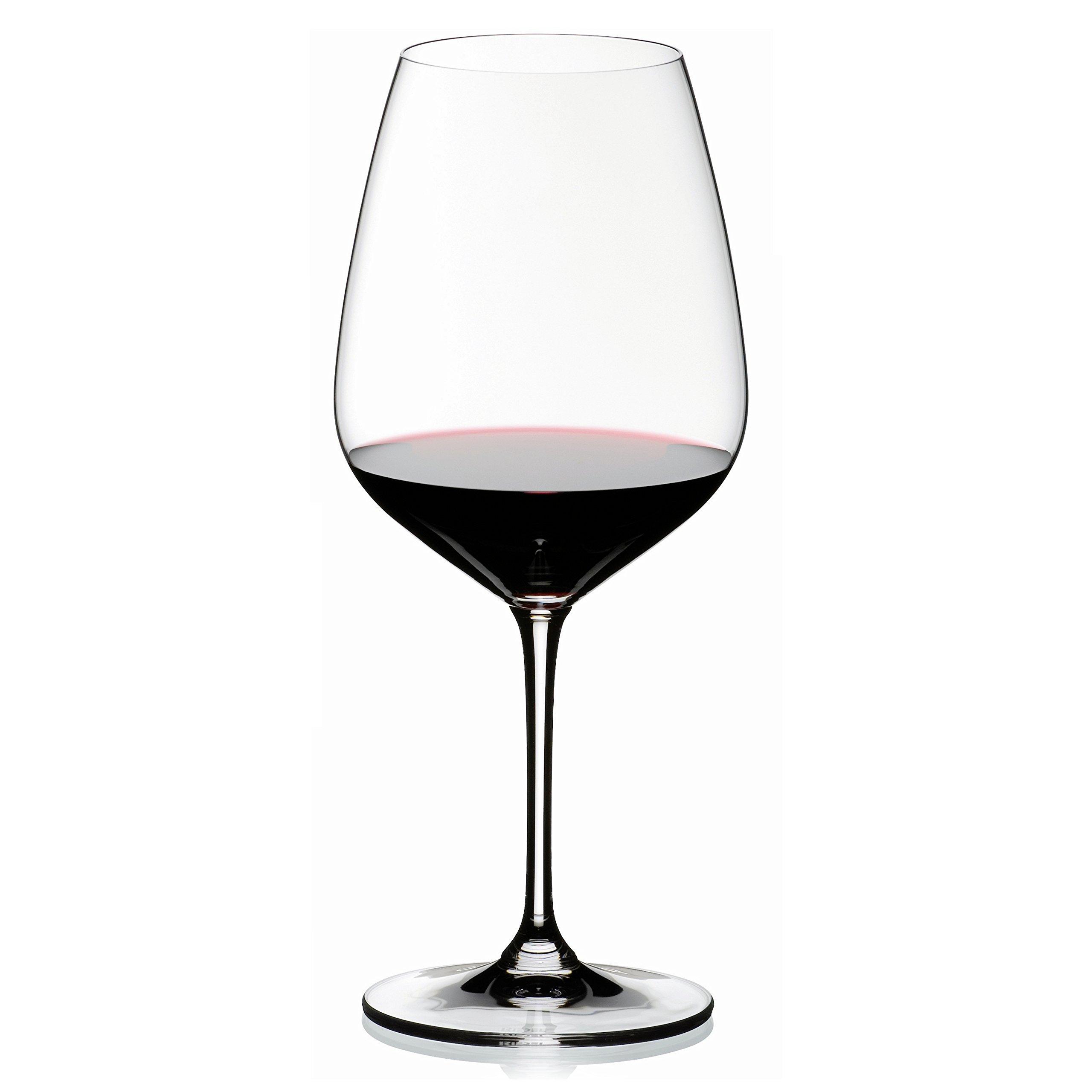 Riedel Vinum Extreme Leaded Crystal Cabernet/Merlot Wine Glass, Set of 6