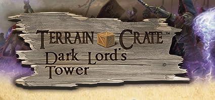 Dark Lords Tower Mantic Games TerrainCrate 28mm Fantasy Scenery