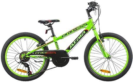 ATALA Bicicletta da Bambino XR 250 Verde Cambio 6V Ruota 20 2019