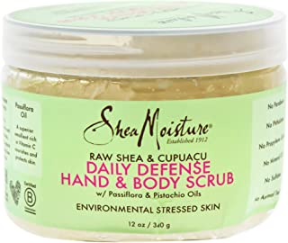 product image for Shea Moisture Raw & Cupuacu Daily Defense Hand & Body Scrub for Unisex, 12 Ounce