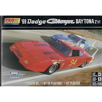 Revell 4413 69 Dodge Charger Daytona 2 in 1 Model Car Kit: Toys & Games