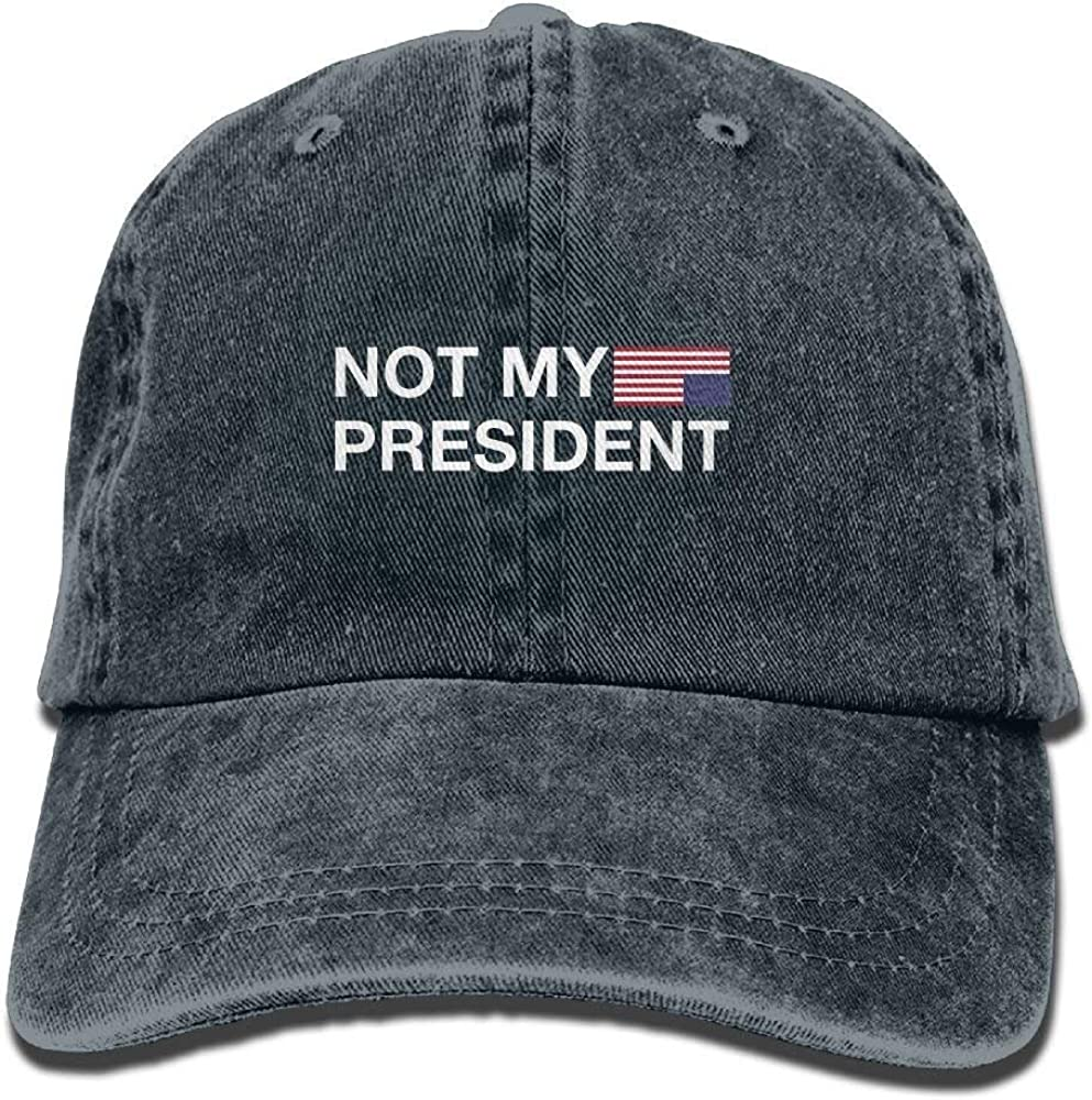 Not My President Adult New Style Cowboy Cap