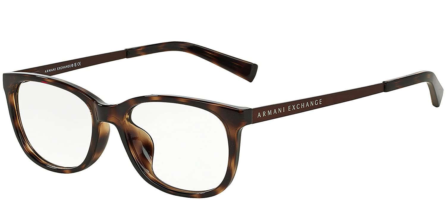 Amazon.com: Armani Exchange AX 3005 Women\'s Eyeglasses Tortoise 52 ...