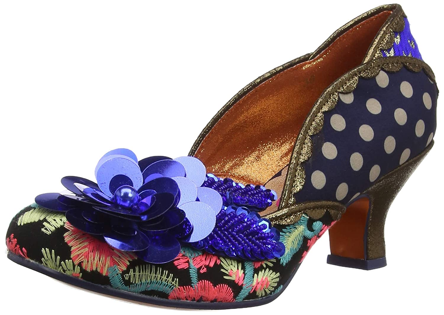 Poetic Poetic Poetic Licence by Irregular Choice Damen Bay Breeze Pumps 400d72