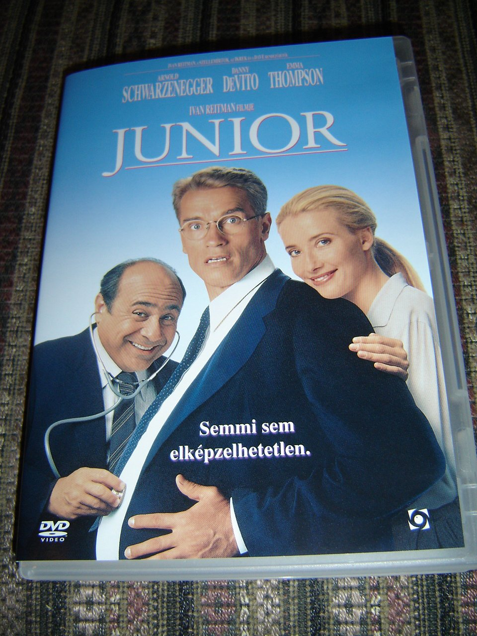Amazon.com: Junior (DVD) Nothing is inconceivable - Semmi ...