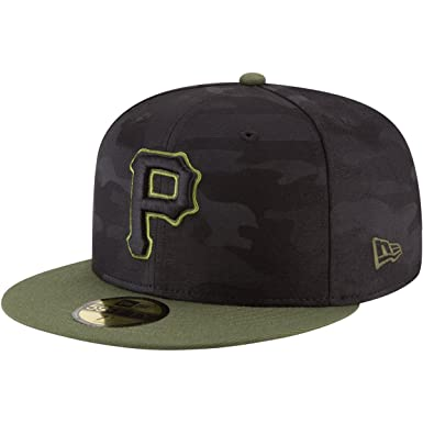 new products 9ec4e 32a15 Amazon.com  New Era Pittsburgh Pirates Memorial Day Fitted Cap 59fifty  Basecap Limited Special Edition  Clothing