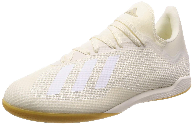 Weiß (Casbla Ftwbla Dormet 0) adidas Herren X Tango 18.3 in Futsalschuhe, Fluoreszierend gelb schwarz