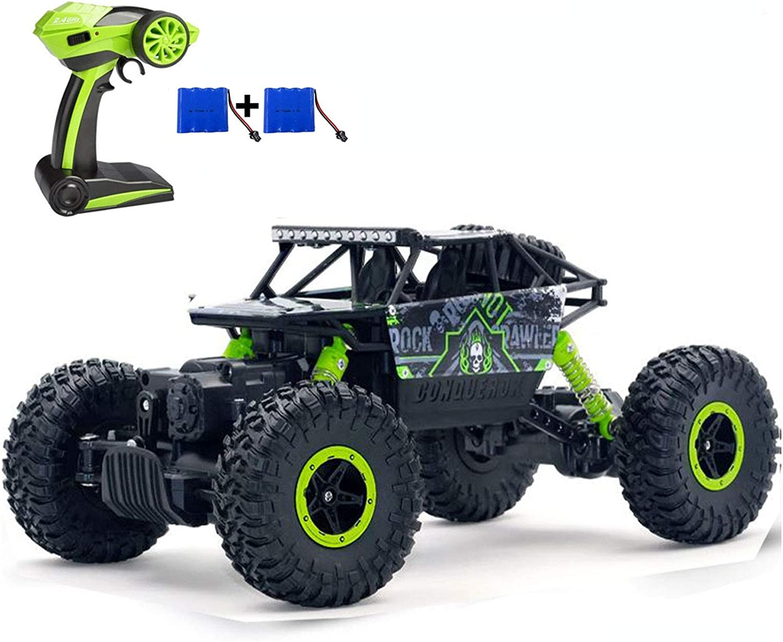 Amazon Com Szjjx Rc Cars Off Road Remote Control Car Trucks Vehicle 2 4ghz 4wd Powerful 1 18 Racing Climbing Cars Radio Electric Rock Crawler Green Toys Games