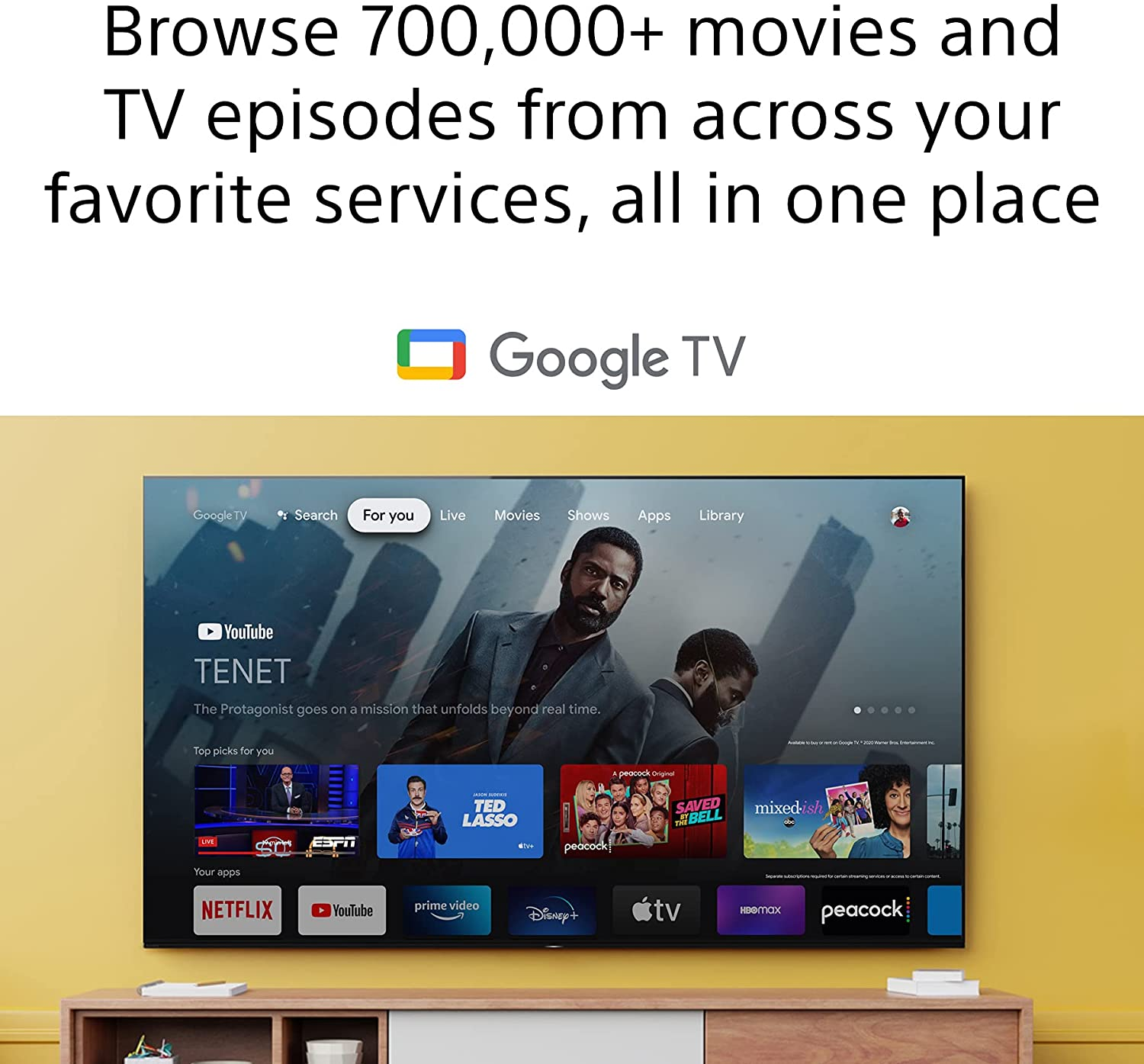 Sony 65 Inch 4K Ultra HD LED X80J Smart Google TV with Dolby Vision HDR and Alexa KD65X80J