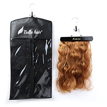 Amazon bella hair portable hair extensions hanger and bella hair portable hair extensions hanger and dustproof case bag for hair bundles and hair extensions pmusecretfo Image collections
