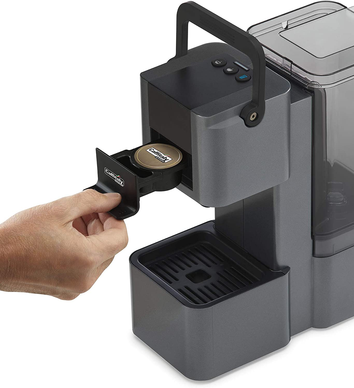 Máquina Café Caffitaly Iris negra + 60 Cápsulas mixtas (): Amazon ...