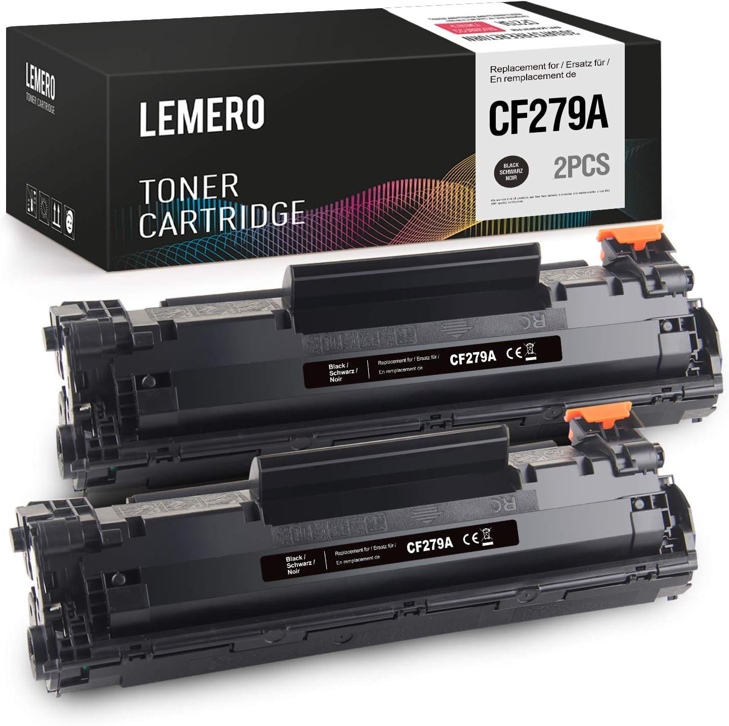 LEMERO Compatible Tóner para HP 79A CF279A para HP Laserjet Pro ...