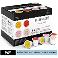 96-Count Bestpresso Coffee Variety Pack Single Serve K-Cup Deals