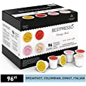96-Count Bestpresso Coffee Single Serve K-Cups (various flavors)