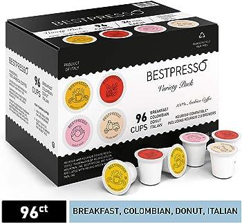 96-Count Bestpresso Coffee Single Serve K-Cups (various flavors)