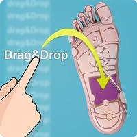 Drag & Drop Reflexology (feet)