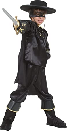 Amazon.es: César O858-005 - Disfraz infantil del Zorro (5-7 años ...