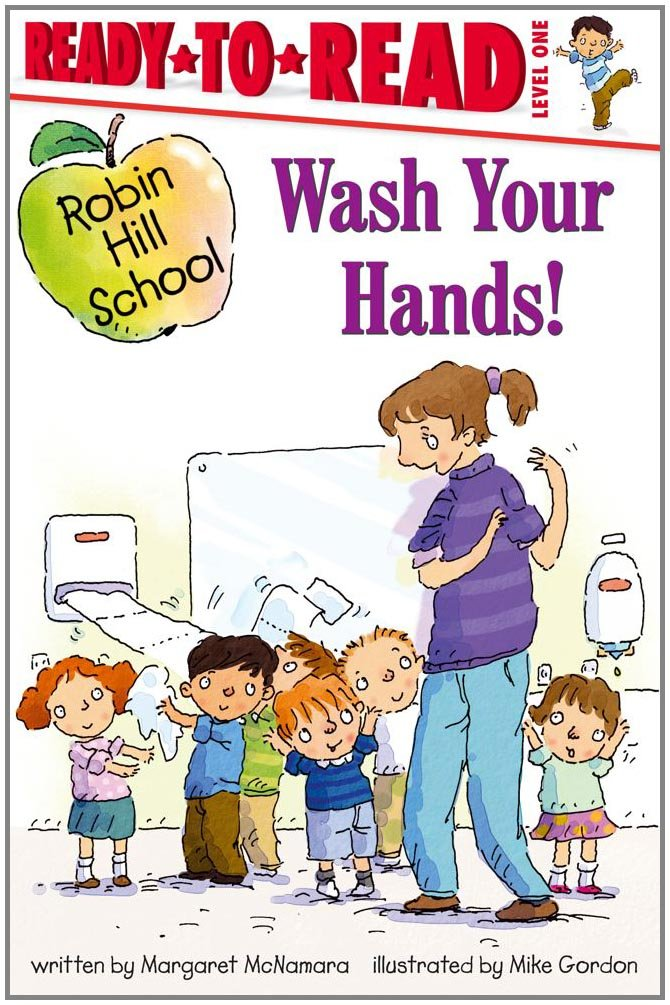 Wash Your Hands Robin School product image