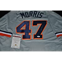 $125 » Jack Morris Autographed Signed Detroit Tigers Custom Jersey With JSA COA!