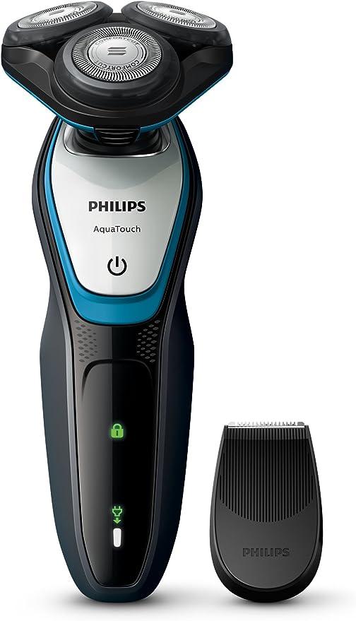 Philips S5070/06 afeitadora, Azul, Carbón Vegetal, Plata, 1 ...
