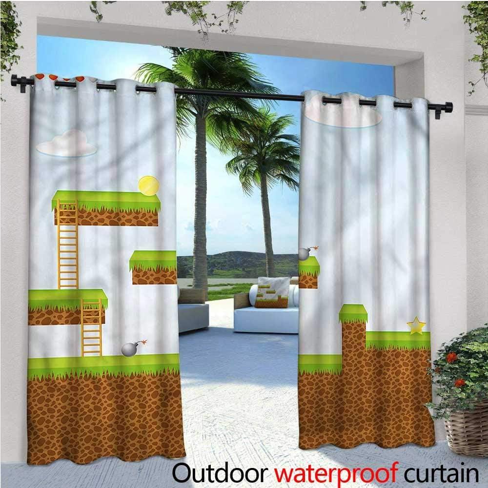 Cortina de privacidad para habitación de niños para pérgola o pájaro de Papel, con Aislamiento térmico, Repelente al Agua, para balcón: Amazon.es: Jardín
