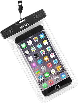 AUKEY Bolsa impermeable para teléfono móvil de 6 pulgadas (15,2 cm ...