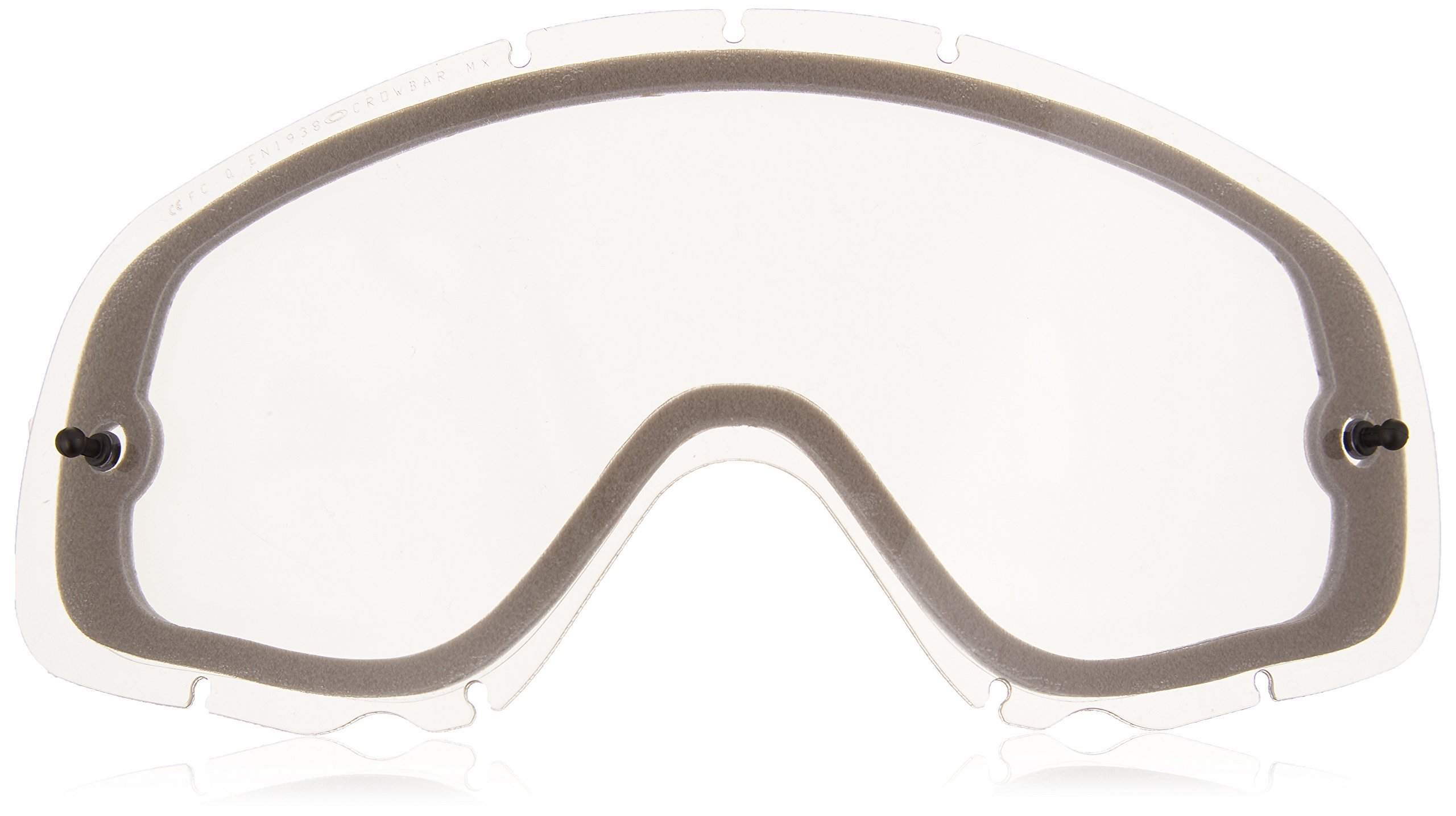 Oakley Crowbar Enduro Replacement Lens (Clear, One Size)
