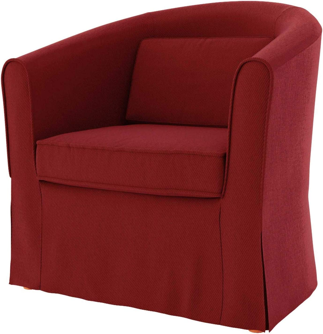 Amazon Com Tly Cotton Tullsta Armchair Cover For The Ikea Tullsta Chair Slipcover Replacement Cotton Red Home Kitchen