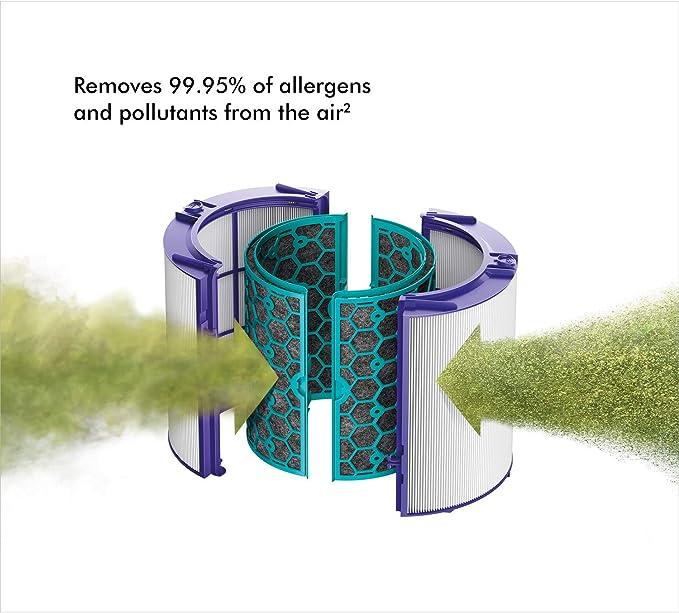 Dyson - Pure Cool TP04 torre purificadora de aire, color blanco y ...