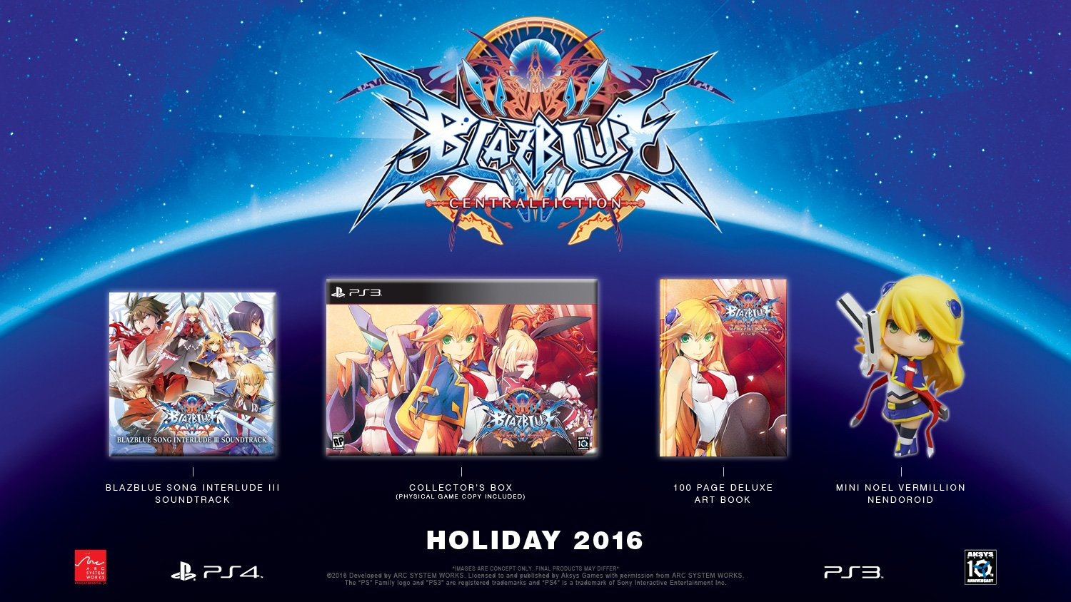 Amazon com: BlazBlue: Central Fiction Limited Edition
