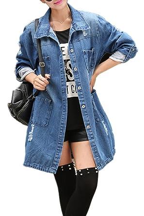 Veste en jeans femme grande taille