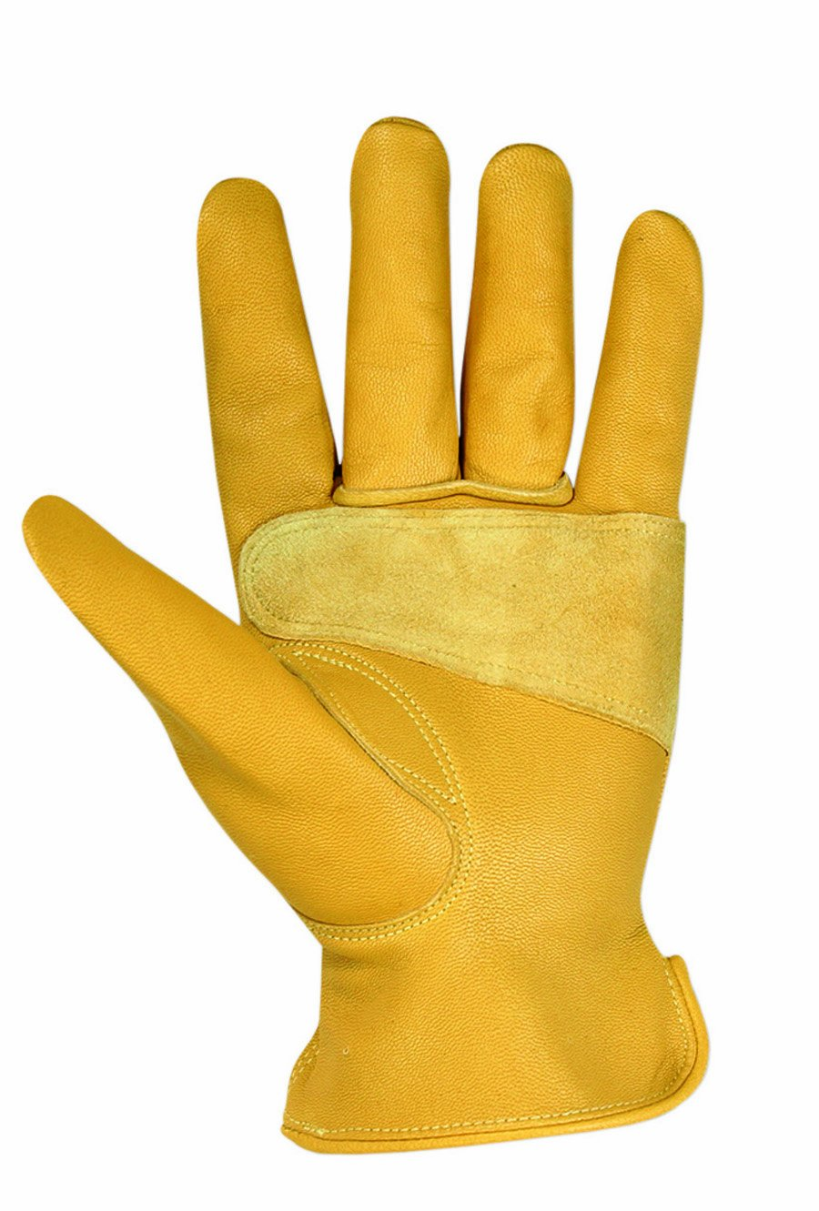 Goat leather work gloves - Custom Leathercraft 2060l Top Grain Goatskin Work Gloves Large Leather Work Gloves Amazon Com