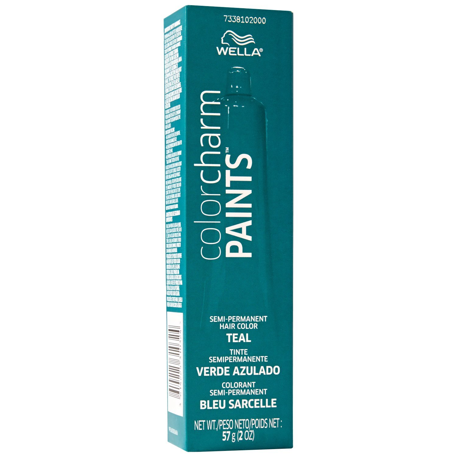 Wella Paints Teal Semi Permanent Hair Color Teal Low Cost