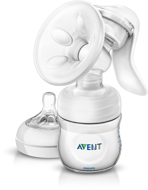 AVENT - Tire-lait manuel avec biberon de conservation Natural 125 ml - Bébé Philps-Avent SCF330/20