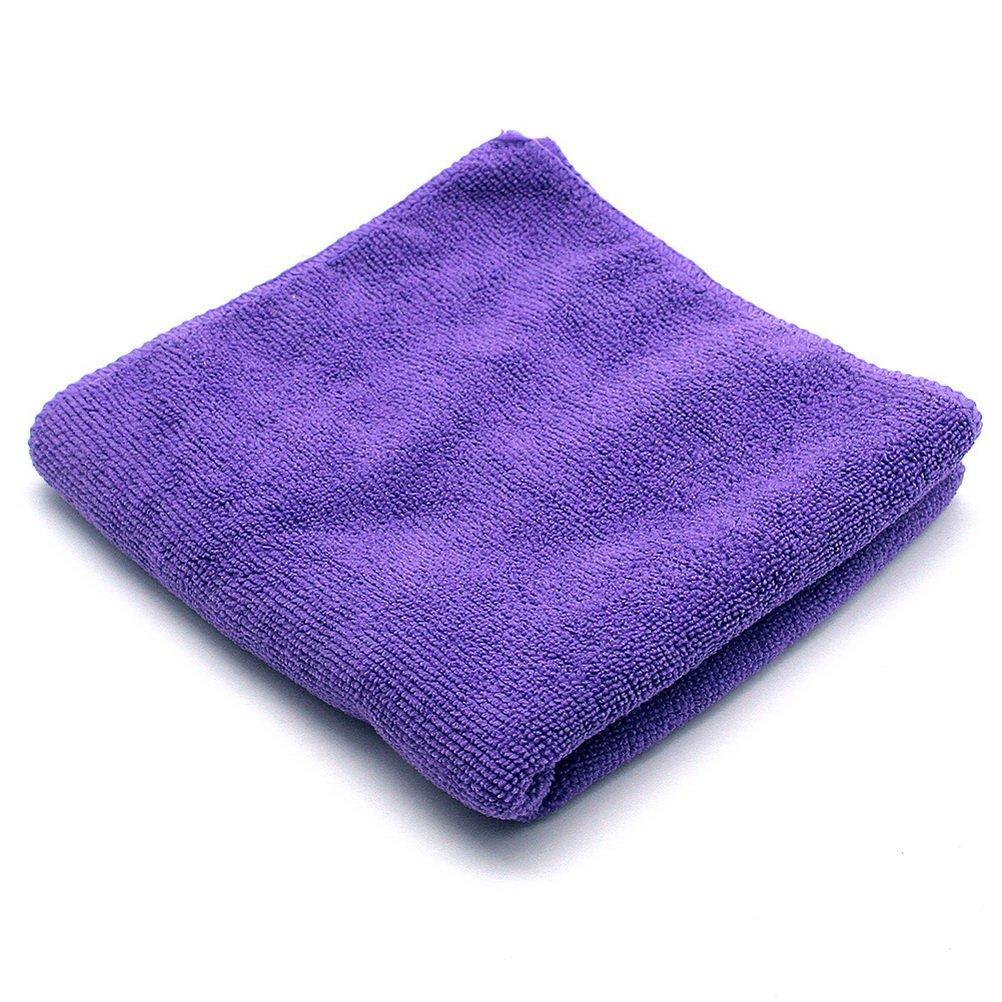 So Beauty Premium Quality Fast Drying Microfiber Hair Towel Purple