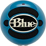Blue Snowball USB Microphone (Electric Blue)
