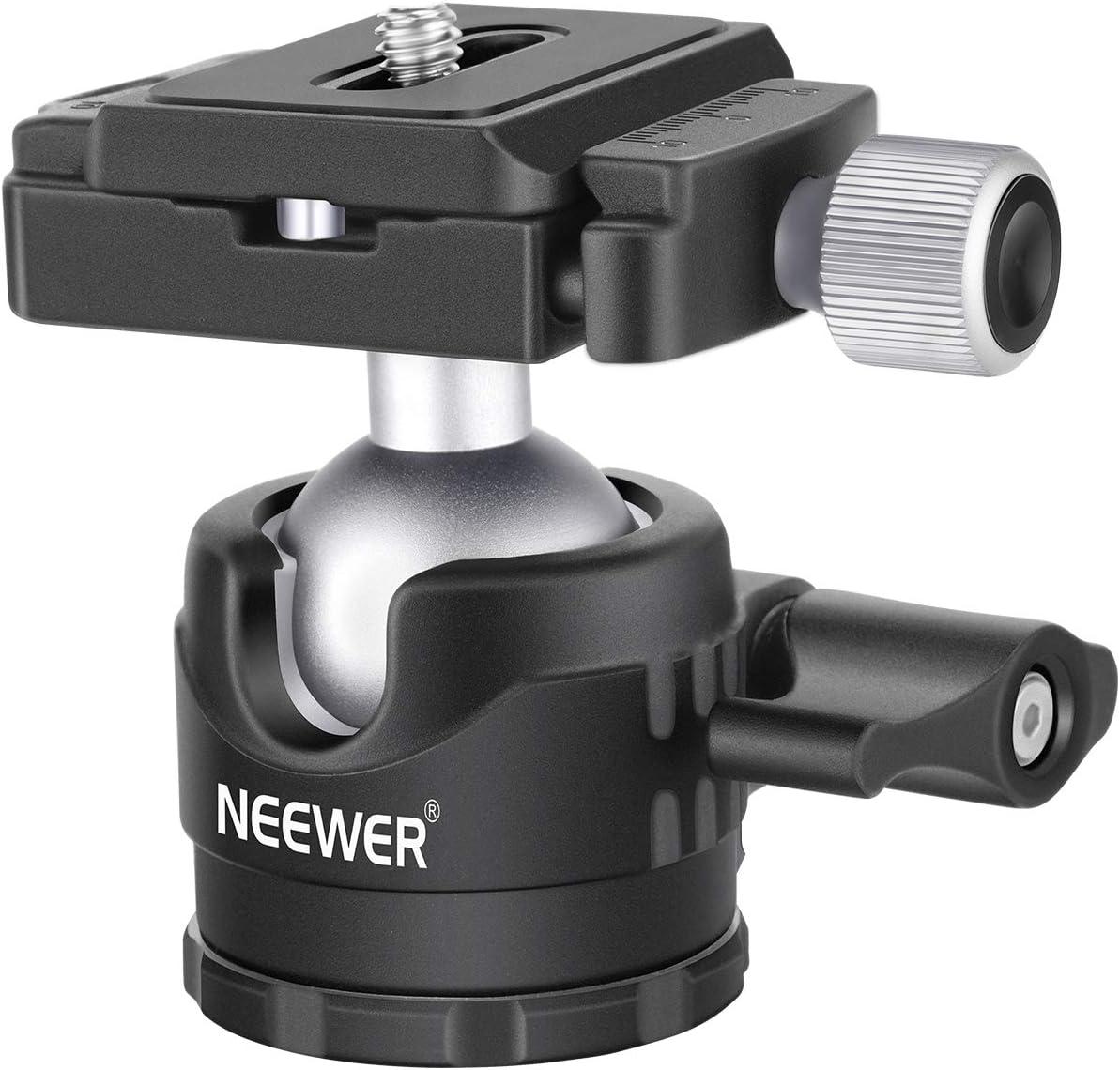 Neewer Niedrige Profile Kugelkopf 360 Grad Drehbarer Kamera