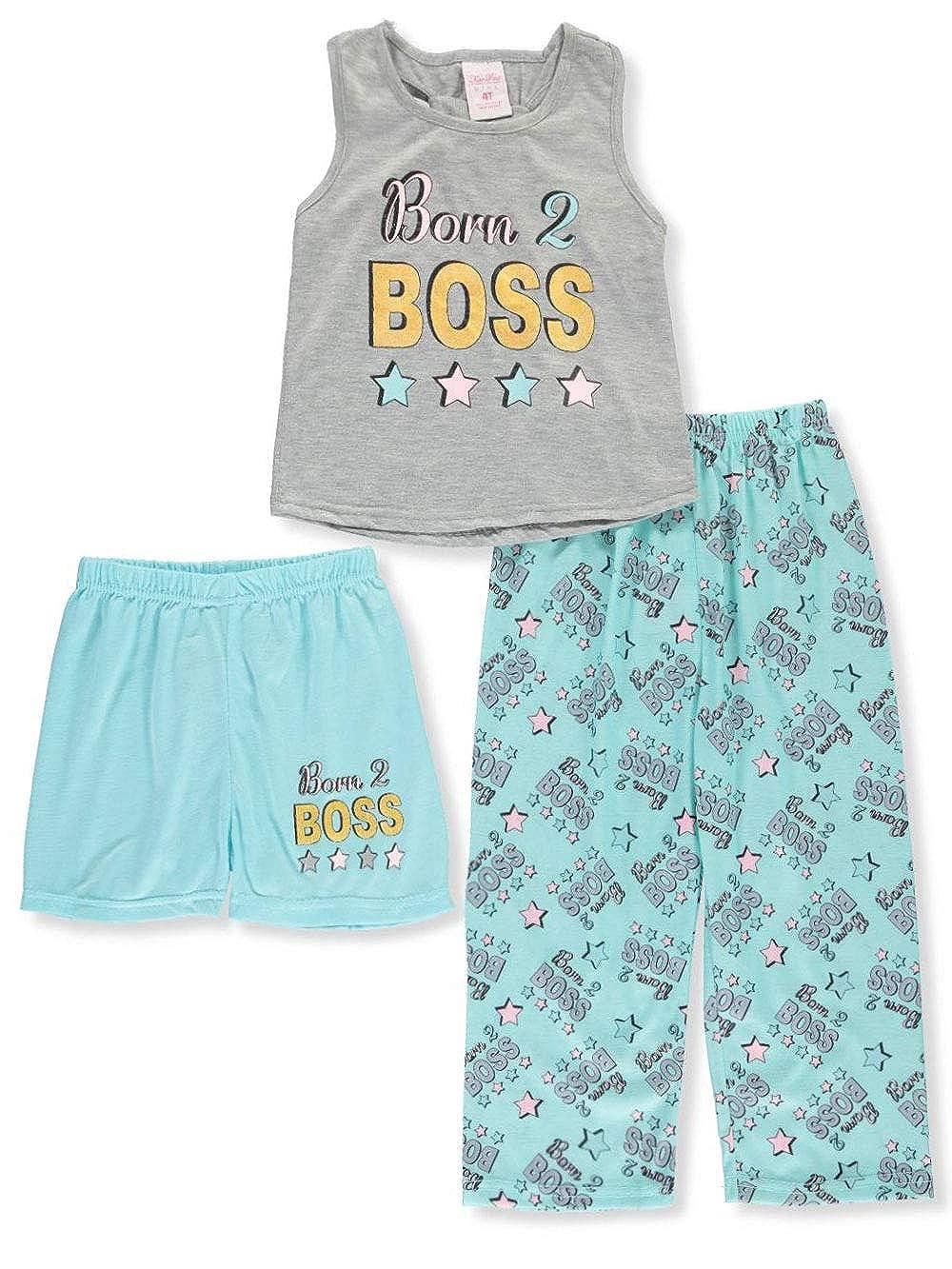 Mon Petit Girls 3-Piece Pajamas