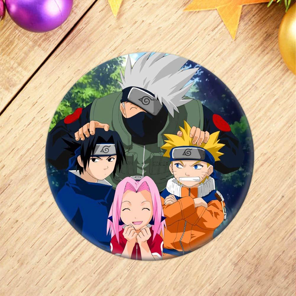 Amazon.com: WerNerk Naruto Broche, Anime Naruto Shippuden ...