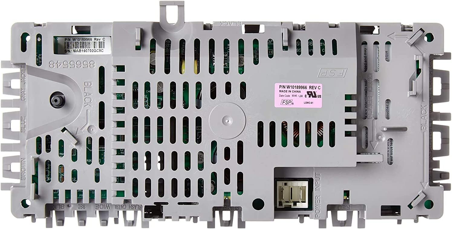 ReplacementParts - ORIGINAL Washer Control Board fits old # W10051171-W10051176