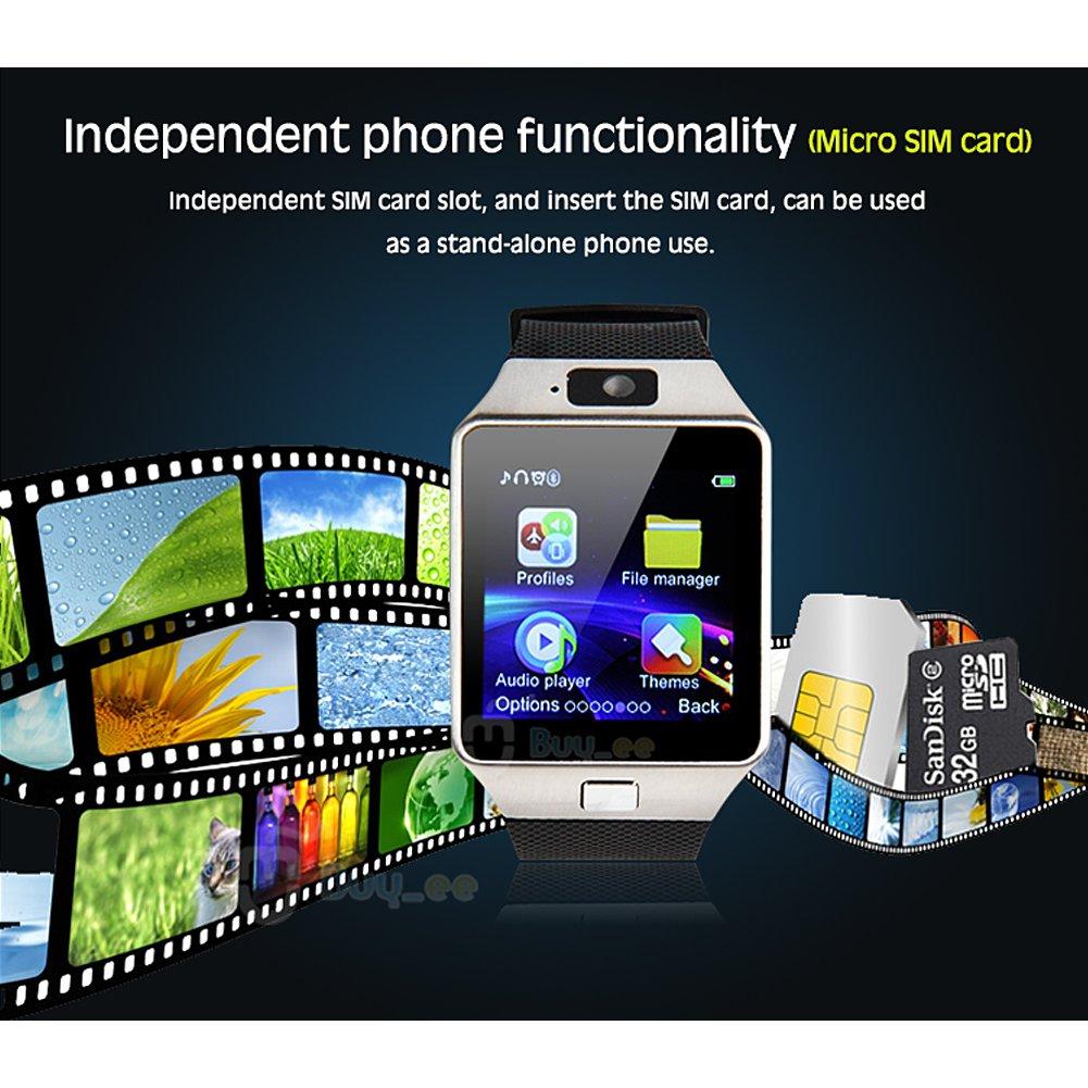 Buyee® DZ09 Bluetooth SmartWatch Handy-Uhr für Smartphone Samsung ...