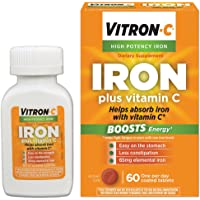 60-Count Vitron-C High Potency Iron Supplement With Vitamin C