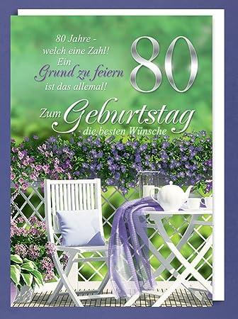 Text gratulation 80 geburtstag