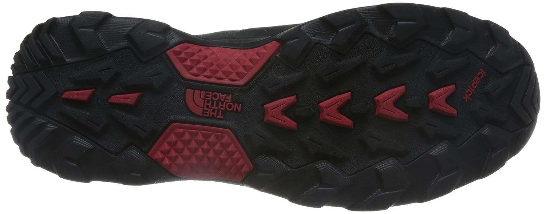 The North Face Thermoball Versa, Chaussures de Randonnée Basses Homme, Gris (Dark Shadow Grey/TNF Red JQ2), 45.5 EU